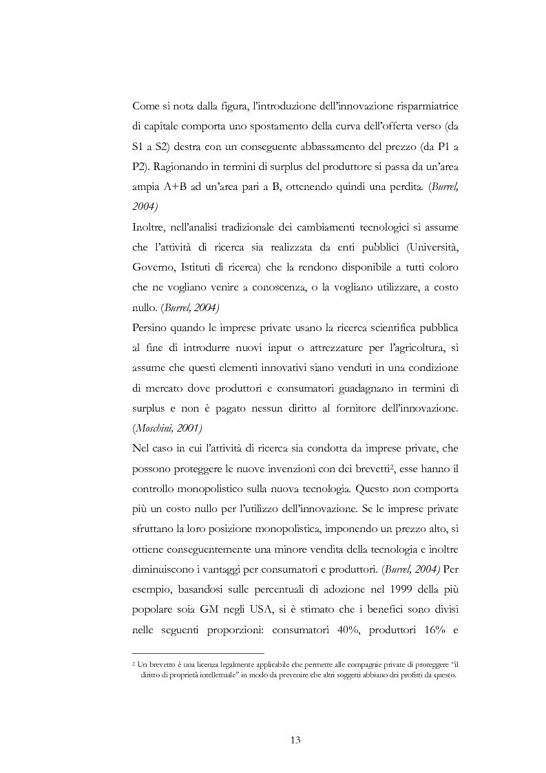 Anteprima della tesi: Atteggiamento dei consumatori verso gli alimenti geneticamente modificati: applicazione del choice modelling nella città di Bari, Pagina 13