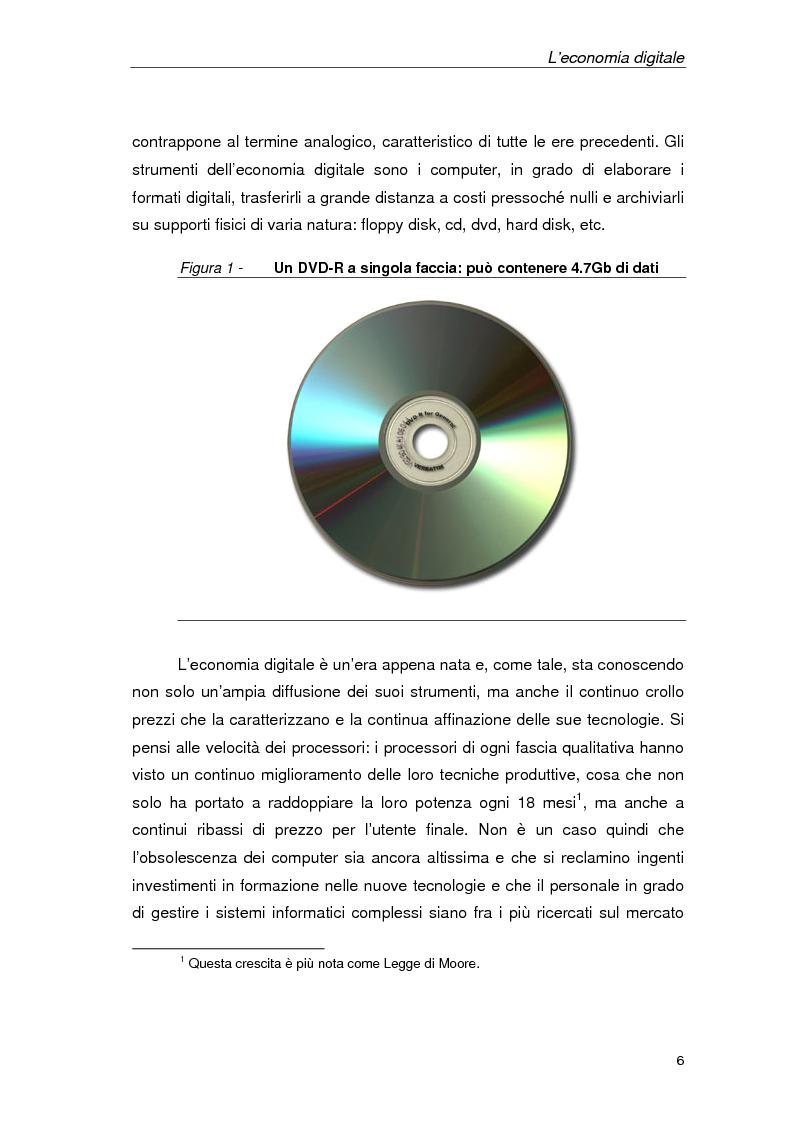 Anteprima della tesi: Un'azienda della Net Economy: il caso Google, Pagina 3
