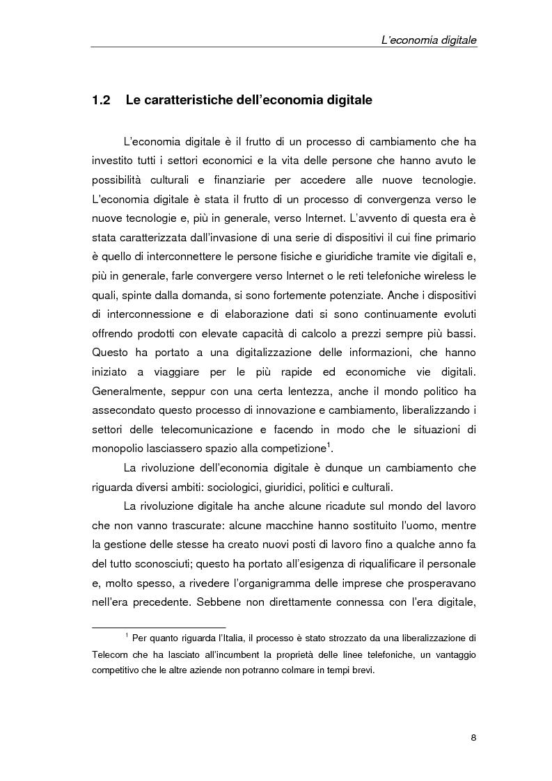 Anteprima della tesi: Un'azienda della Net Economy: il caso Google, Pagina 5