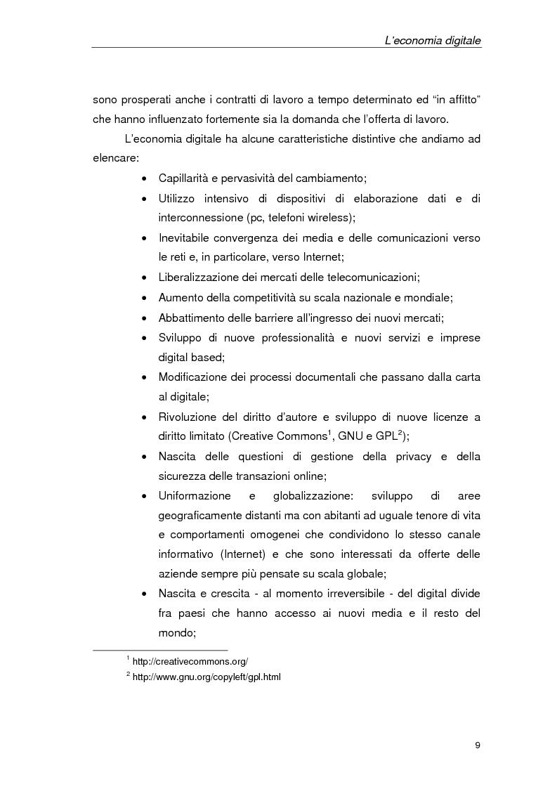 Anteprima della tesi: Un'azienda della Net Economy: il caso Google, Pagina 6