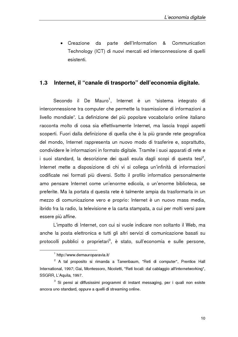 Anteprima della tesi: Un'azienda della Net Economy: il caso Google, Pagina 7