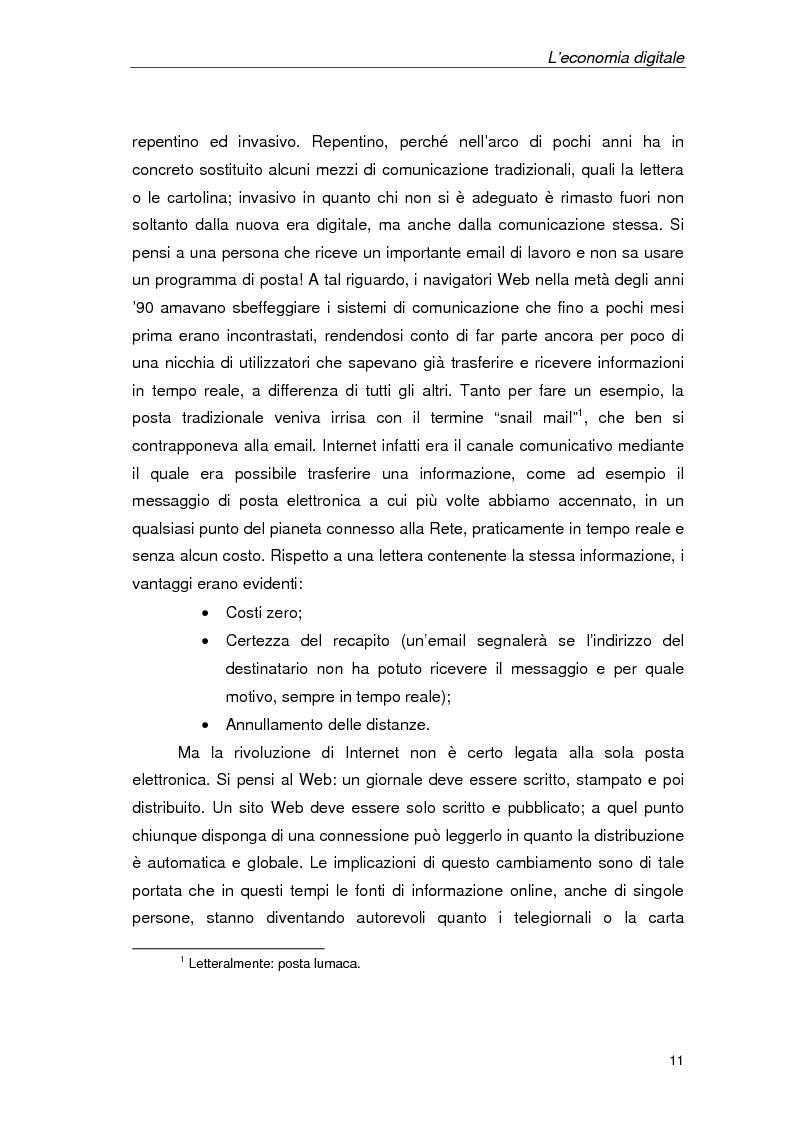 Anteprima della tesi: Un'azienda della Net Economy: il caso Google, Pagina 8