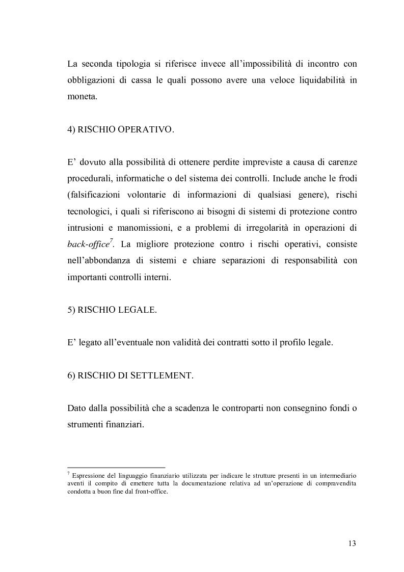Anteprima della tesi: Evidenza empirica sul Value at Risk, Pagina 10