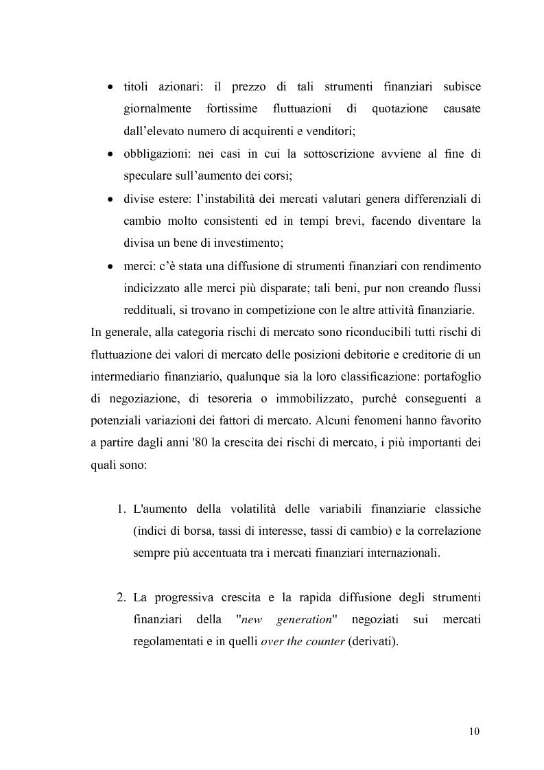 Anteprima della tesi: Evidenza empirica sul Value at Risk, Pagina 7