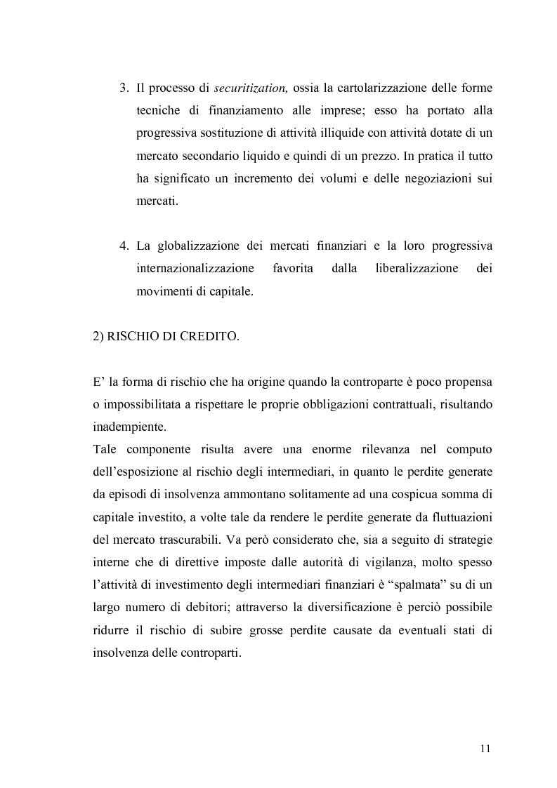 Anteprima della tesi: Evidenza empirica sul Value at Risk, Pagina 8