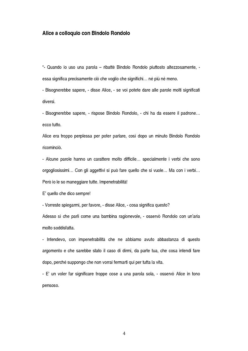 Anteprima della tesi: Tecniche della comunicazione nella '' Relazione con il cliente'', Pagina 4