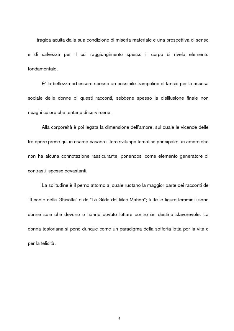 Anteprima della tesi: Le figure femminili nel ''ciclo dei segreti di Milano'' di Giovanni Testori, Pagina 3