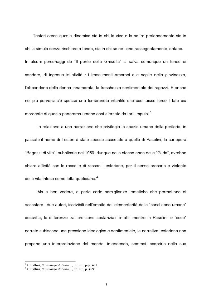 Anteprima della tesi: Le figure femminili nel ''ciclo dei segreti di Milano'' di Giovanni Testori, Pagina 7