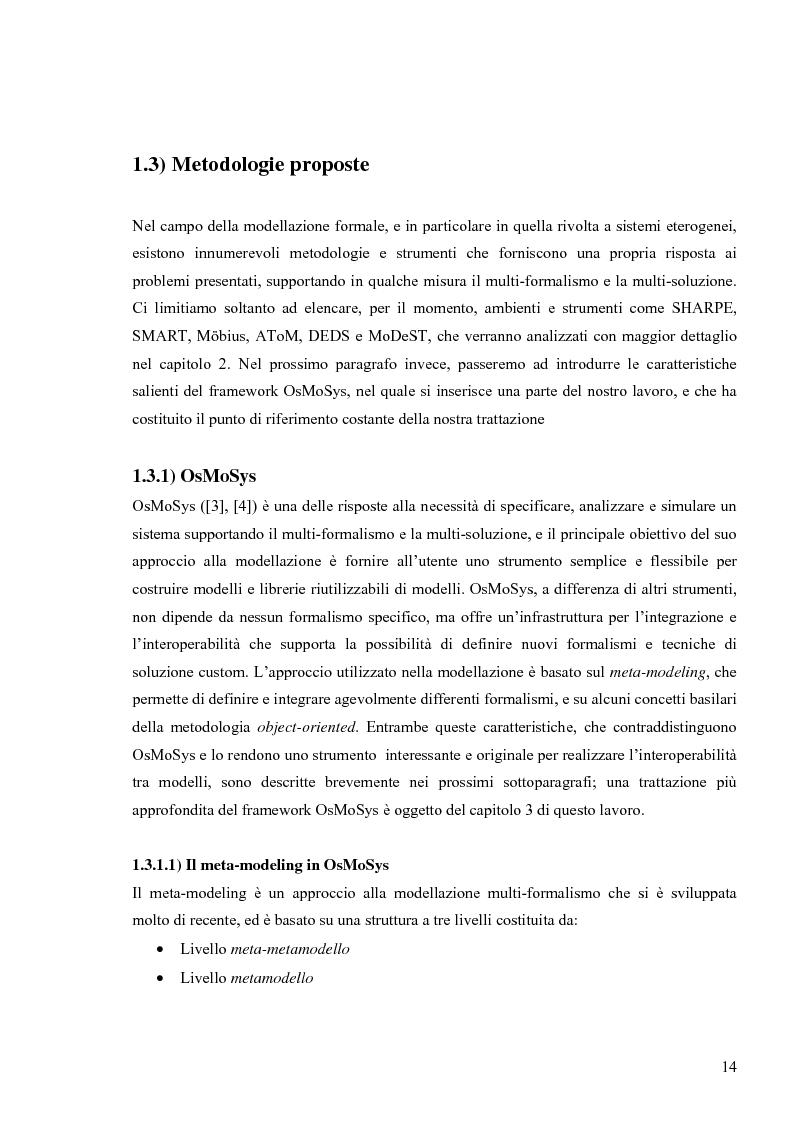 Anteprima della tesi: Tecniche basate su paradigma ad oggetti per l'analisi di sistemi complessi, Pagina 11