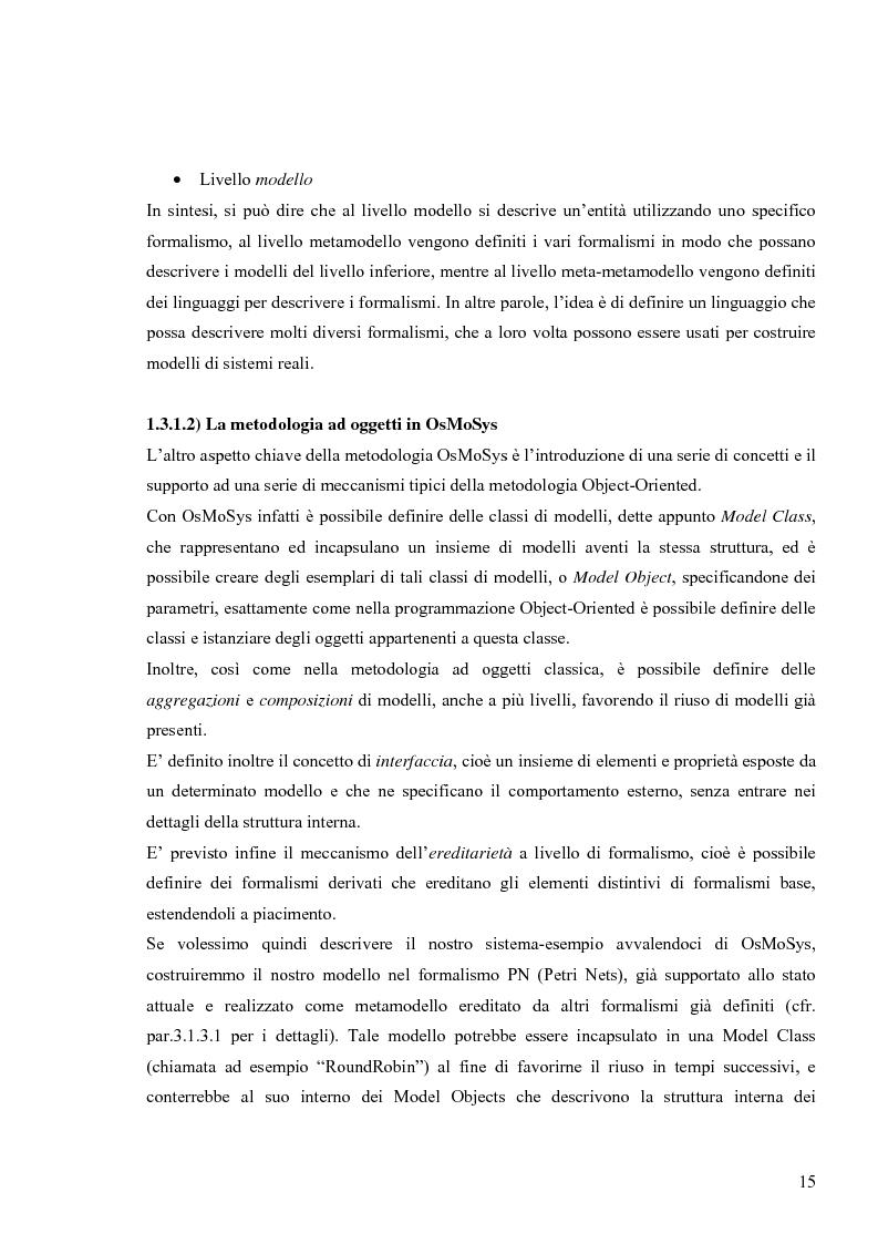 Anteprima della tesi: Tecniche basate su paradigma ad oggetti per l'analisi di sistemi complessi, Pagina 12