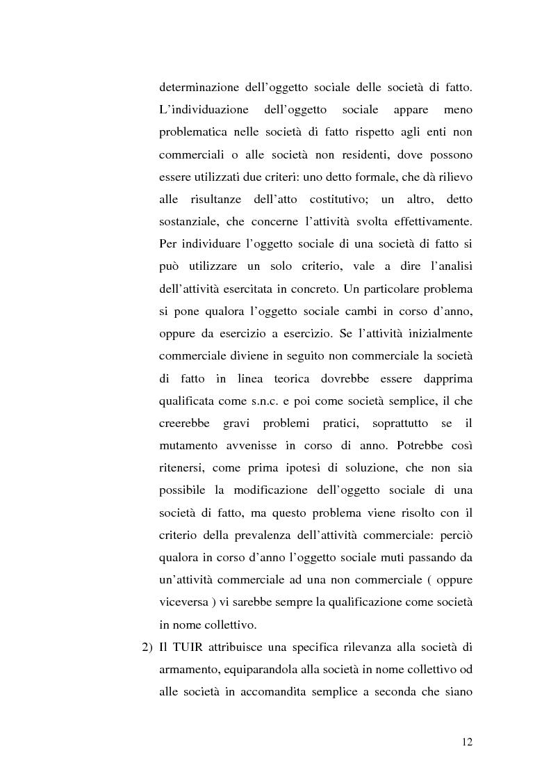 Anteprima della tesi: Il principio di trasparenza per le società di capitali ora introdotto alla luce del confronto con quello relativo alle società di persone, Pagina 12