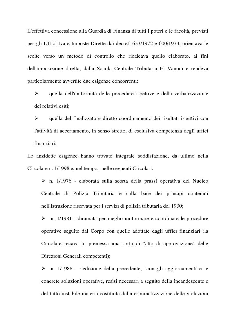 Anteprima della tesi: La tutela del contribuente e le verifiche fiscali della guardia di finanza, Pagina 6