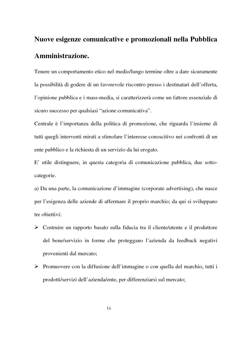 Anteprima della tesi: Innovazioni e strategie per la comunicazione della responsabilità sociale nella pubblica amministrazione, Pagina 12