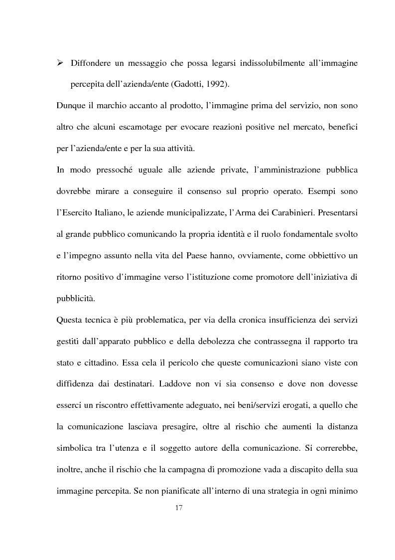 Anteprima della tesi: Innovazioni e strategie per la comunicazione della responsabilità sociale nella pubblica amministrazione, Pagina 13