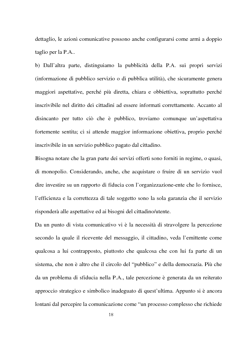 Anteprima della tesi: Innovazioni e strategie per la comunicazione della responsabilità sociale nella pubblica amministrazione, Pagina 14