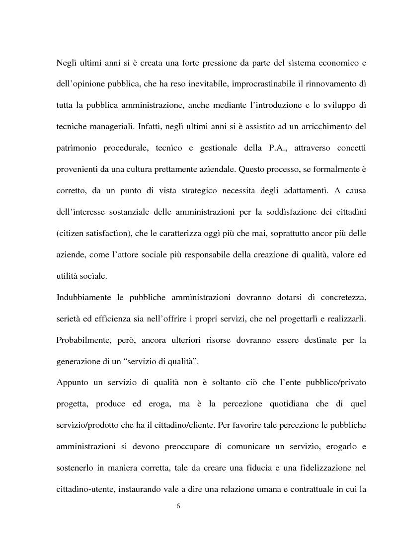 Anteprima della tesi: Innovazioni e strategie per la comunicazione della responsabilità sociale nella pubblica amministrazione, Pagina 2