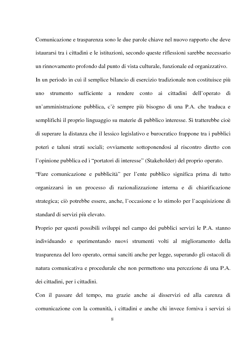 Anteprima della tesi: Innovazioni e strategie per la comunicazione della responsabilità sociale nella pubblica amministrazione, Pagina 4