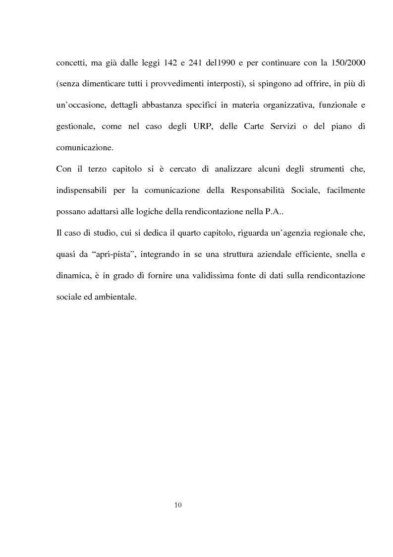 Anteprima della tesi: Innovazioni e strategie per la comunicazione della responsabilità sociale nella pubblica amministrazione, Pagina 6