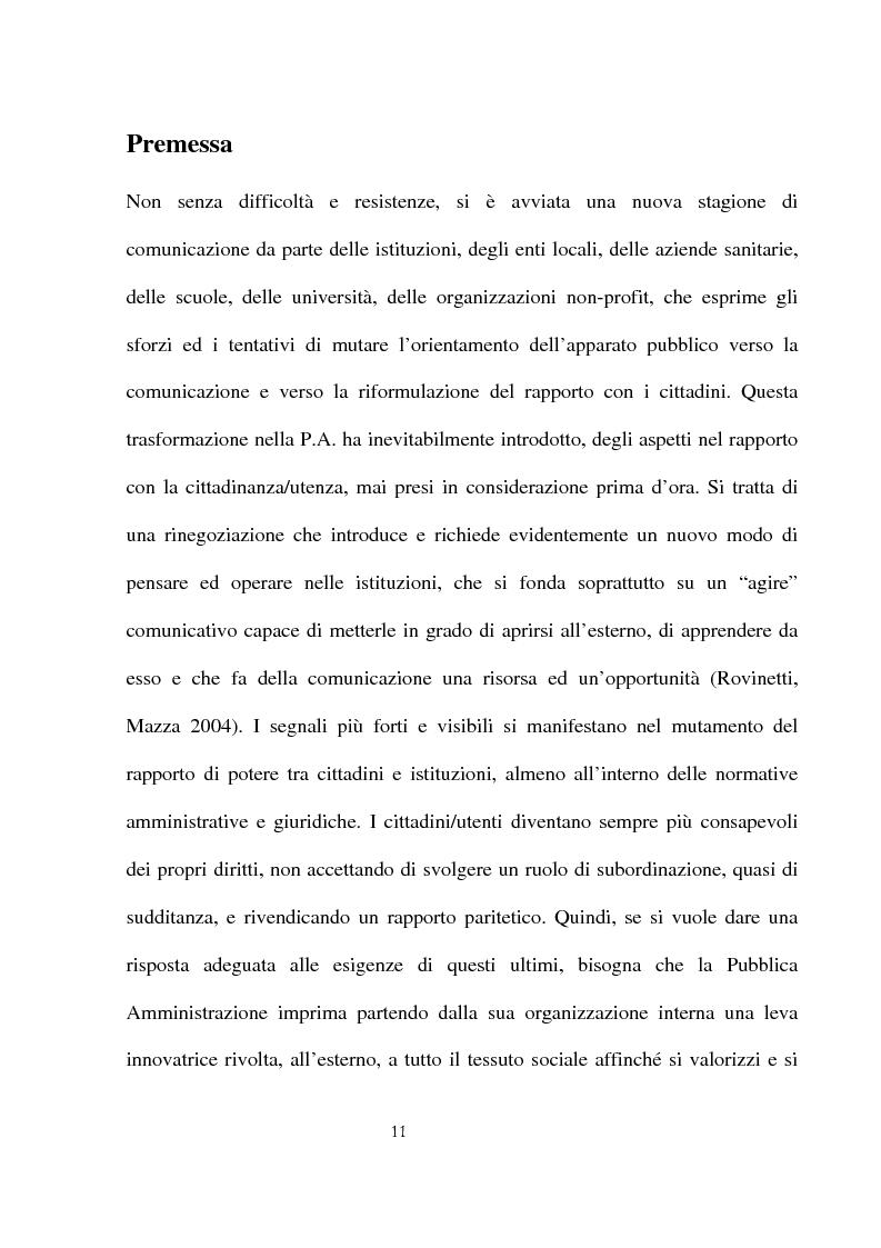 Anteprima della tesi: Innovazioni e strategie per la comunicazione della responsabilità sociale nella pubblica amministrazione, Pagina 7