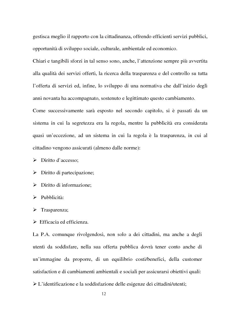 Anteprima della tesi: Innovazioni e strategie per la comunicazione della responsabilità sociale nella pubblica amministrazione, Pagina 8