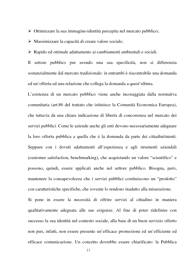 Anteprima della tesi: Innovazioni e strategie per la comunicazione della responsabilità sociale nella pubblica amministrazione, Pagina 9