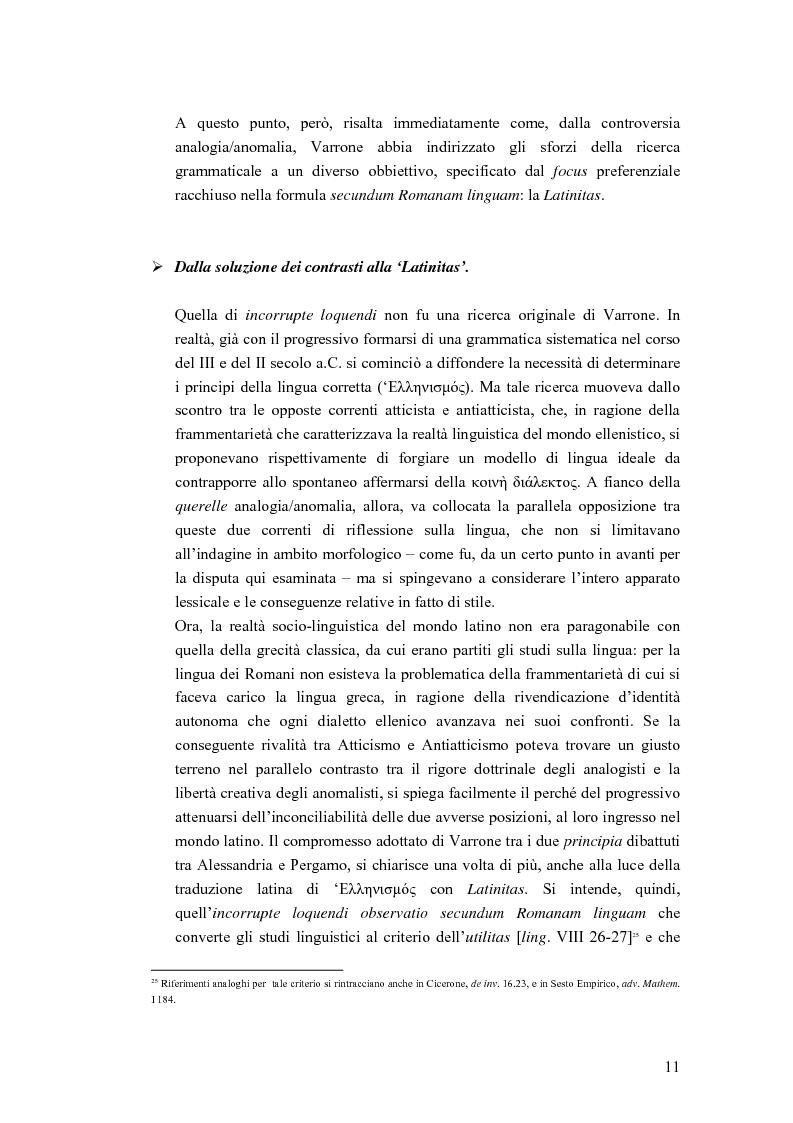 Anteprima della tesi: Analogia e anomalia in Marziano Capella, Pagina 11