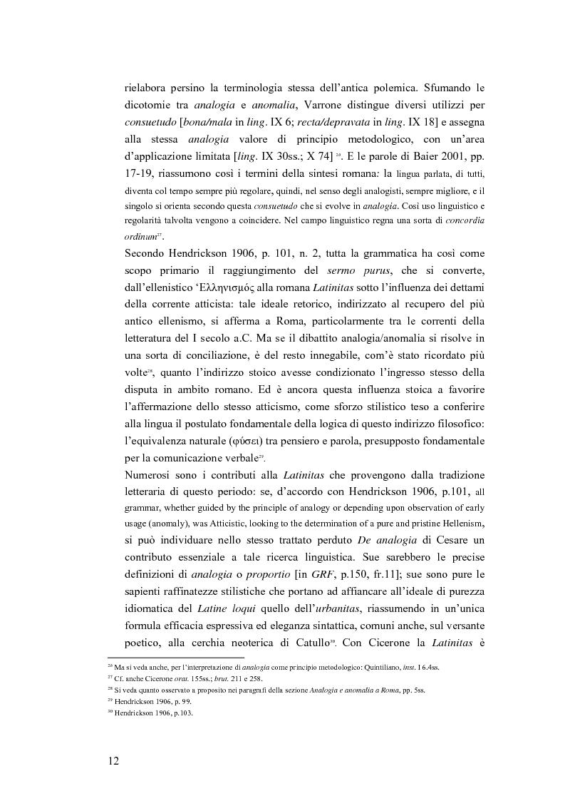 Anteprima della tesi: Analogia e anomalia in Marziano Capella, Pagina 12