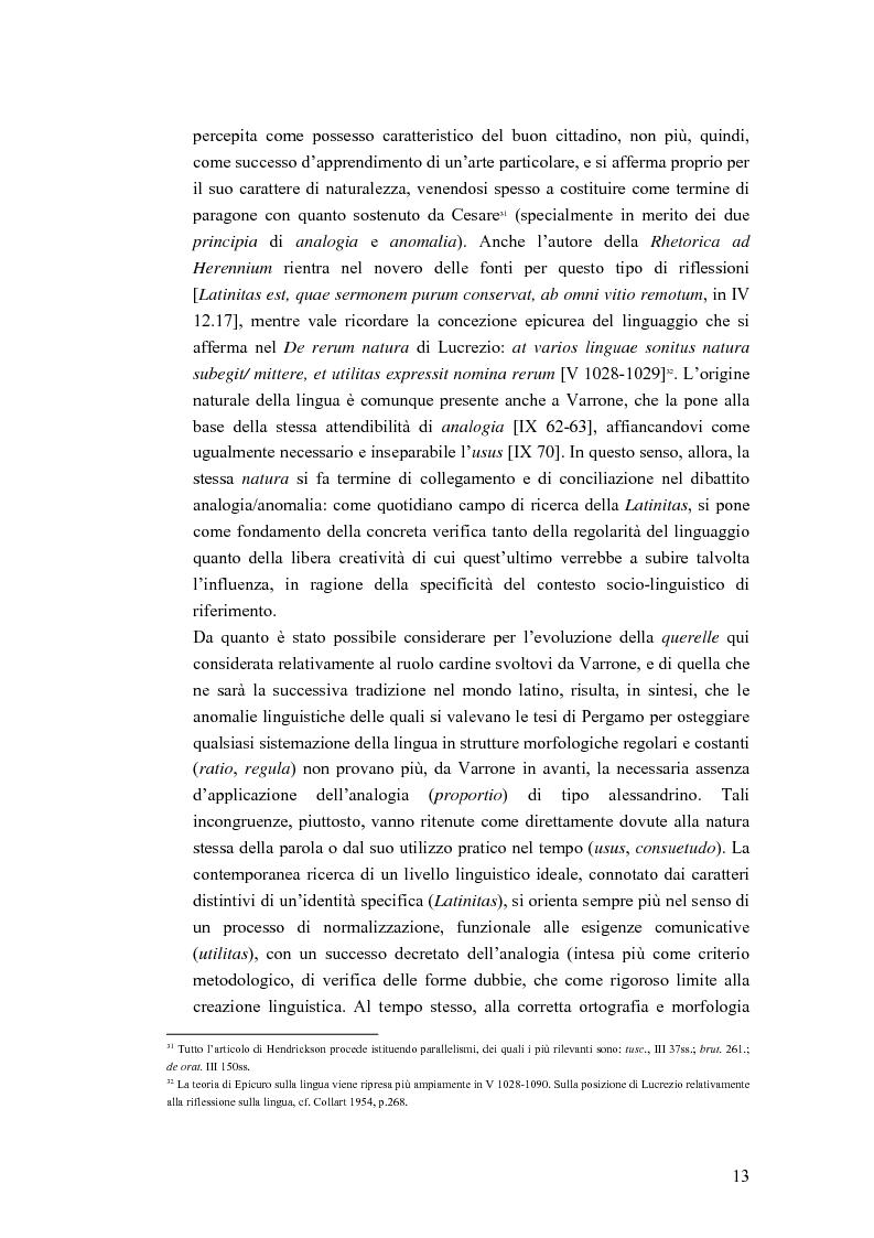 Anteprima della tesi: Analogia e anomalia in Marziano Capella, Pagina 13