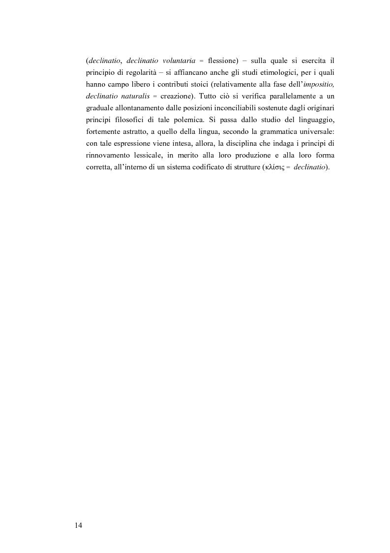 Anteprima della tesi: Analogia e anomalia in Marziano Capella, Pagina 14