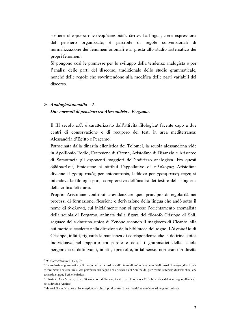 Anteprima della tesi: Analogia e anomalia in Marziano Capella, Pagina 3