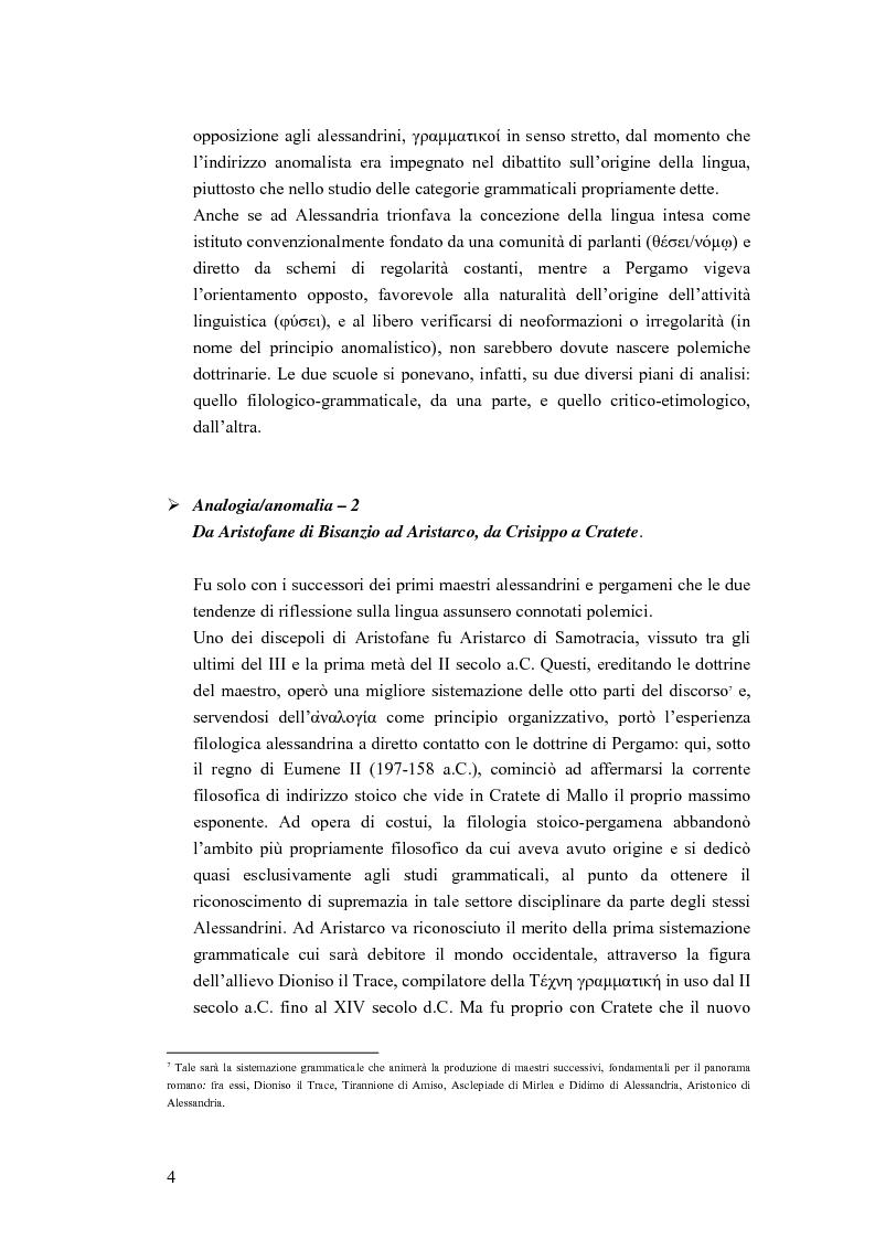 Anteprima della tesi: Analogia e anomalia in Marziano Capella, Pagina 4