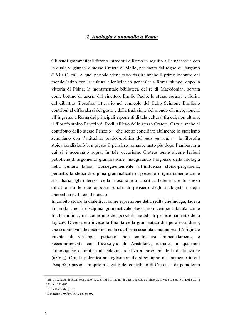 Anteprima della tesi: Analogia e anomalia in Marziano Capella, Pagina 6