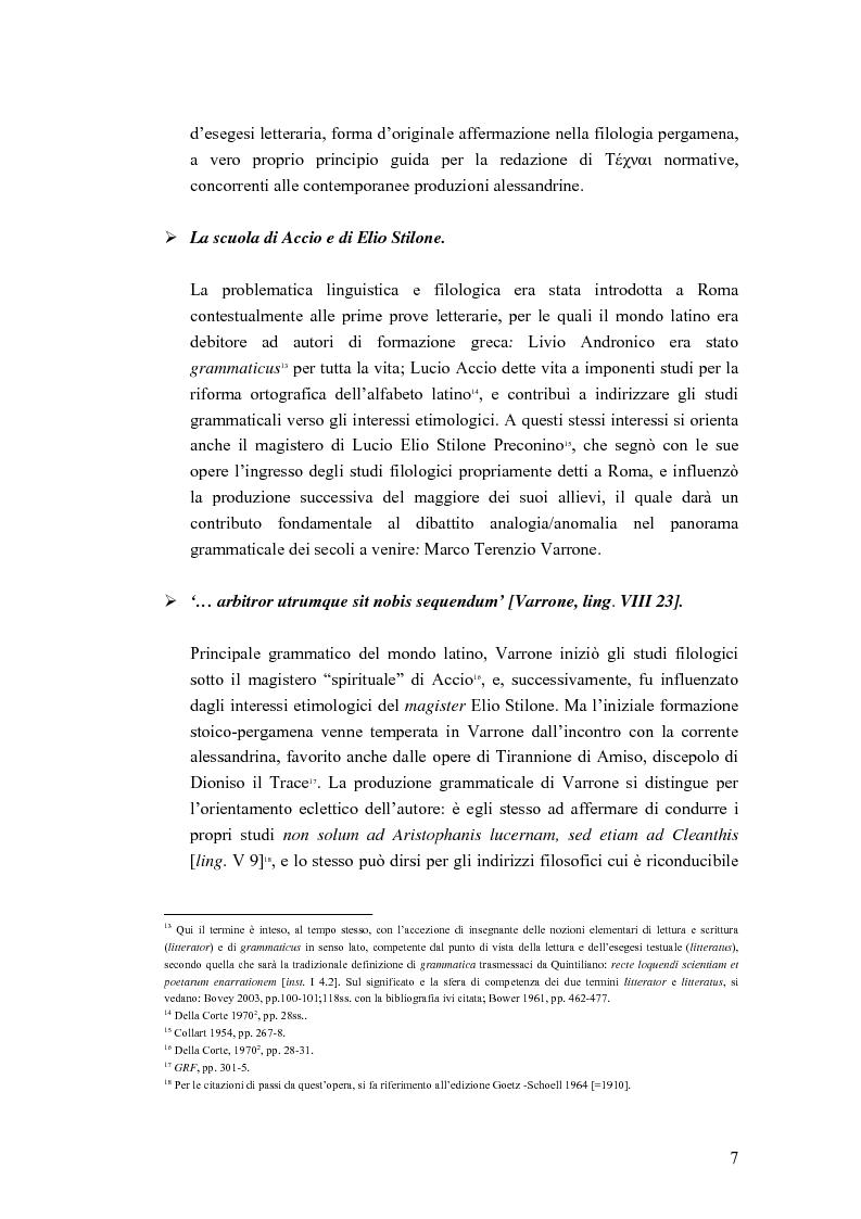 Anteprima della tesi: Analogia e anomalia in Marziano Capella, Pagina 7