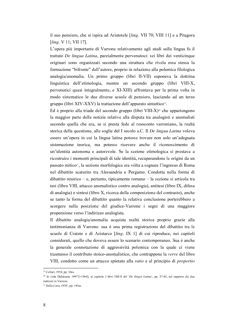 Anteprima della tesi: Analogia e anomalia in Marziano Capella, Pagina 8