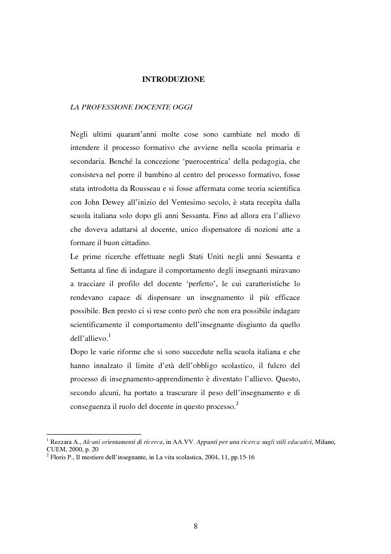 Anteprima della tesi: Mal di scuola: la sindrome del burn out negli insegnanti di scuola media, Pagina 3