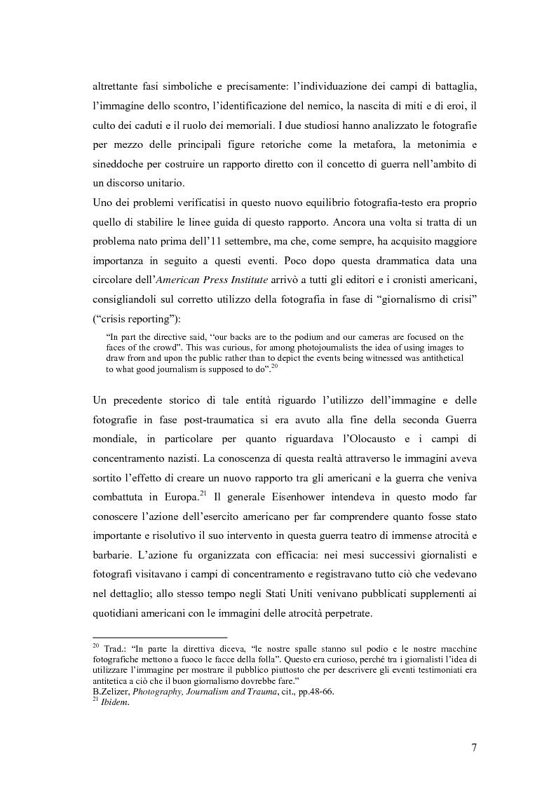 Anteprima della tesi: Il dibattito sull'informazione nella stampa internazionale dopo l'11 settembre 2001, Pagina 10