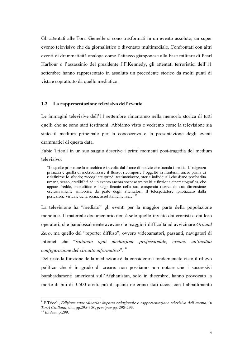 Anteprima della tesi: Il dibattito sull'informazione nella stampa internazionale dopo l'11 settembre 2001, Pagina 6