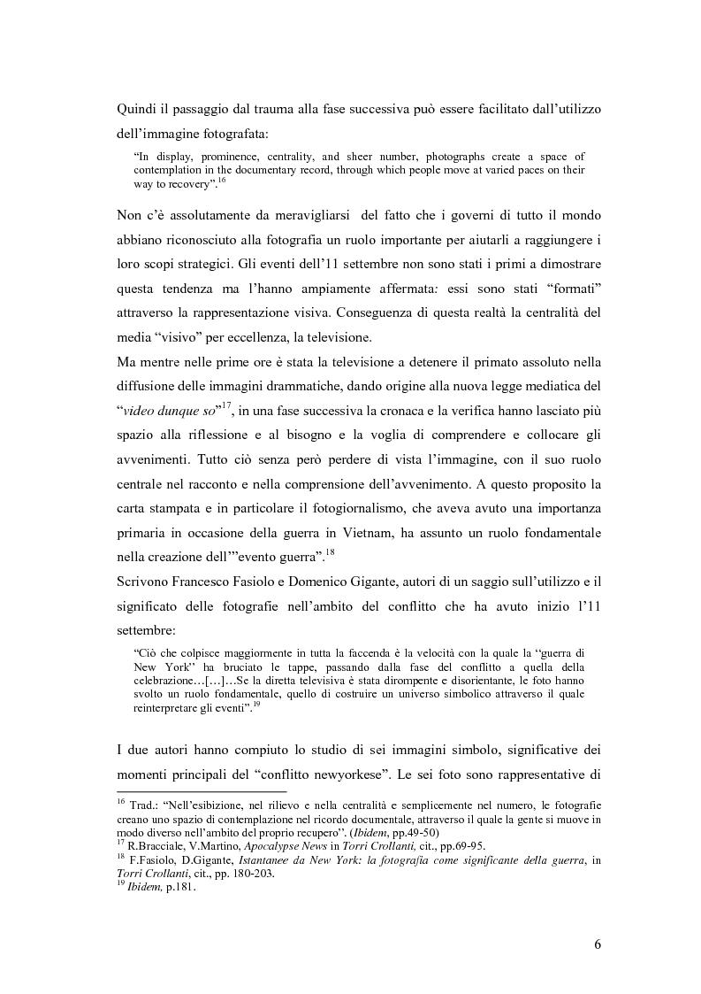 Anteprima della tesi: Il dibattito sull'informazione nella stampa internazionale dopo l'11 settembre 2001, Pagina 9