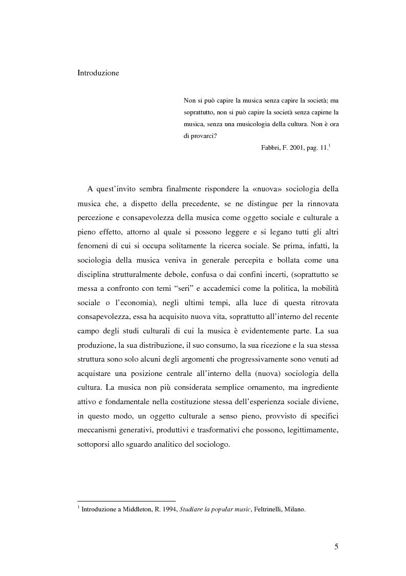 Anteprima della tesi: Stile di vita, musica e sottoculture giovanili: il caso dei mod., Pagina 1