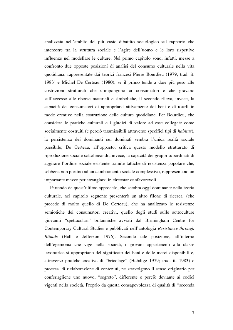 Anteprima della tesi: Stile di vita, musica e sottoculture giovanili: il caso dei mod., Pagina 3