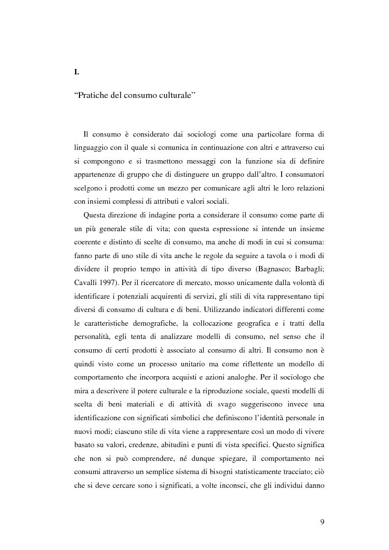 Anteprima della tesi: Stile di vita, musica e sottoculture giovanili: il caso dei mod., Pagina 5