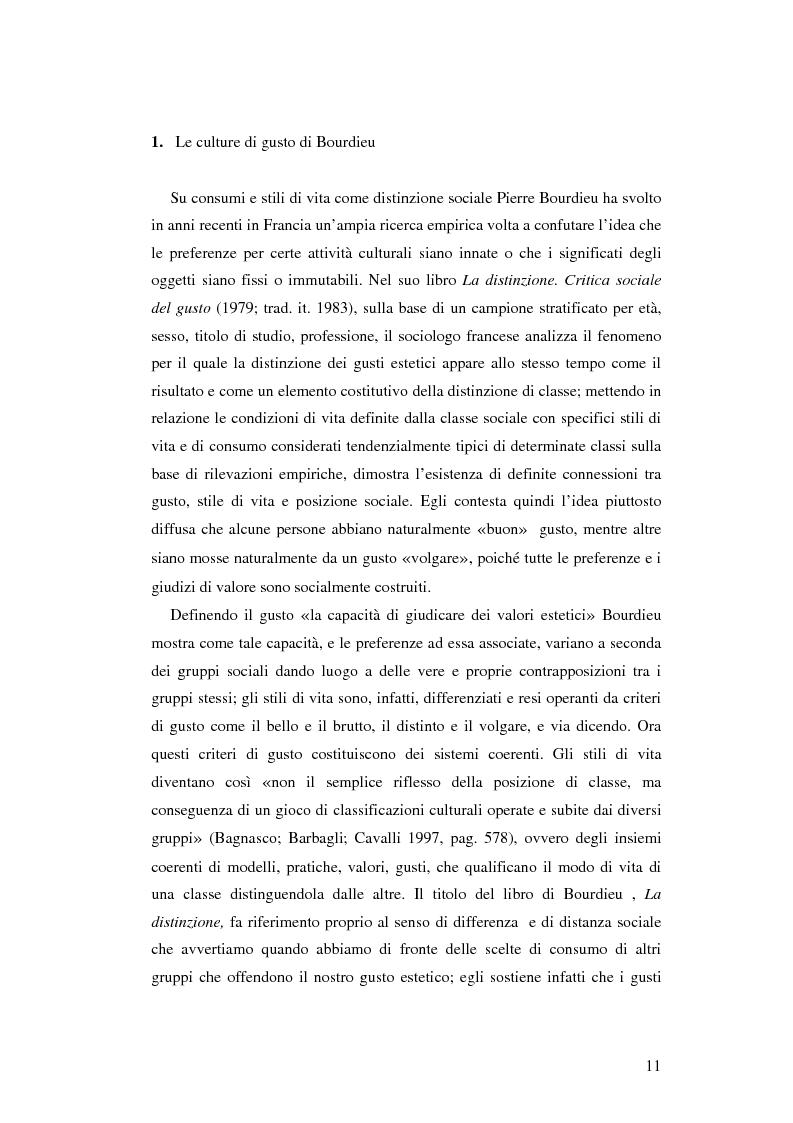 Anteprima della tesi: Stile di vita, musica e sottoculture giovanili: il caso dei mod., Pagina 7