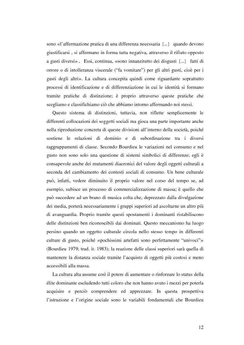 Anteprima della tesi: Stile di vita, musica e sottoculture giovanili: il caso dei mod., Pagina 8