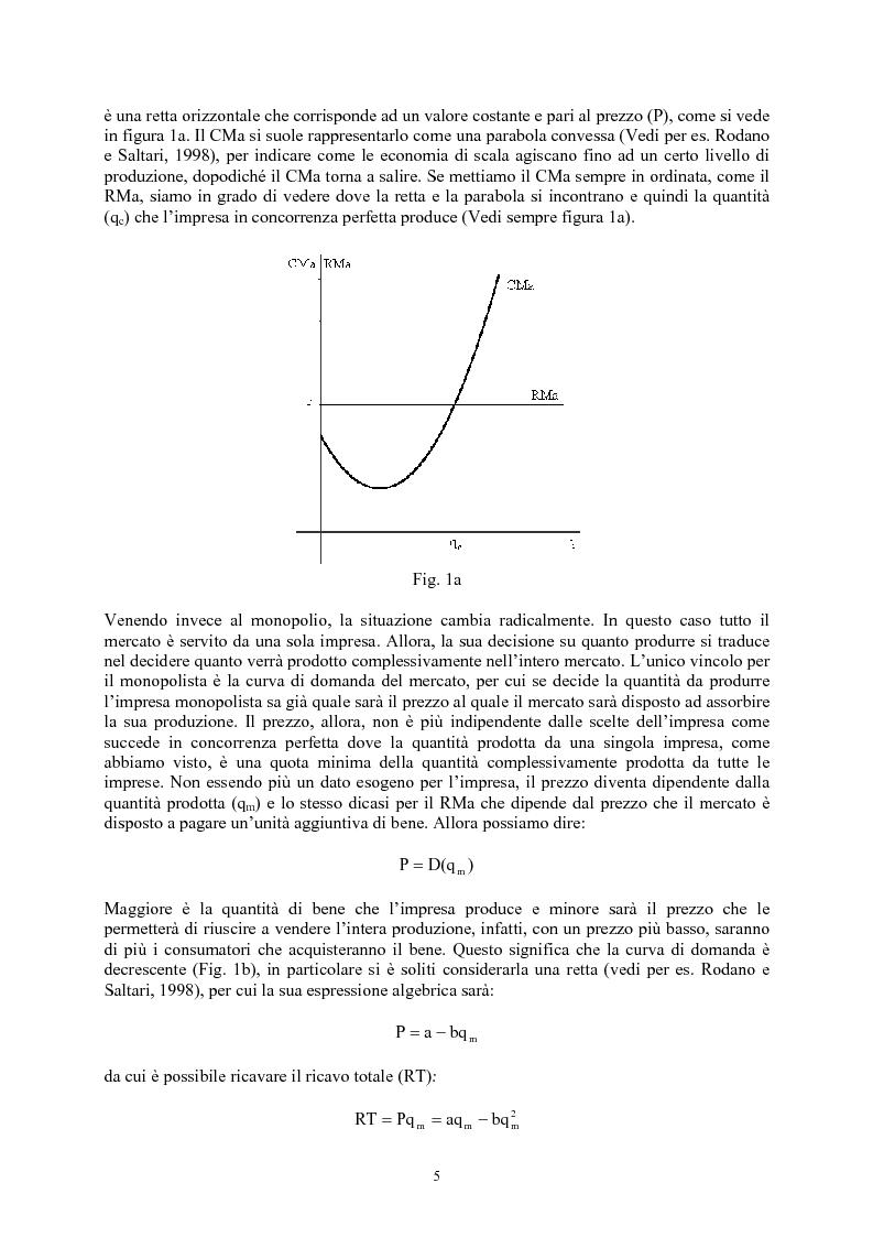 Anteprima della tesi: Modelli di oligopolio con ricerca e sviluppo e effetti di spillover, Pagina 3