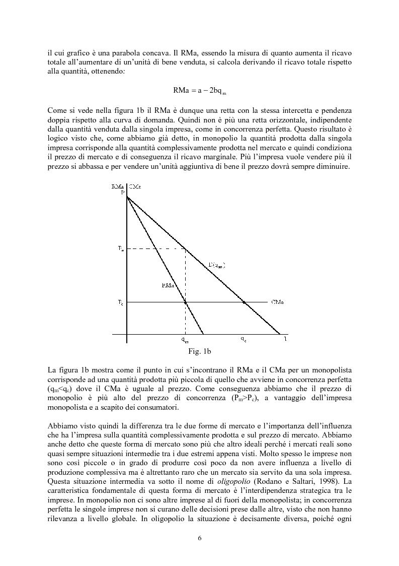 Anteprima della tesi: Modelli di oligopolio con ricerca e sviluppo e effetti di spillover, Pagina 4