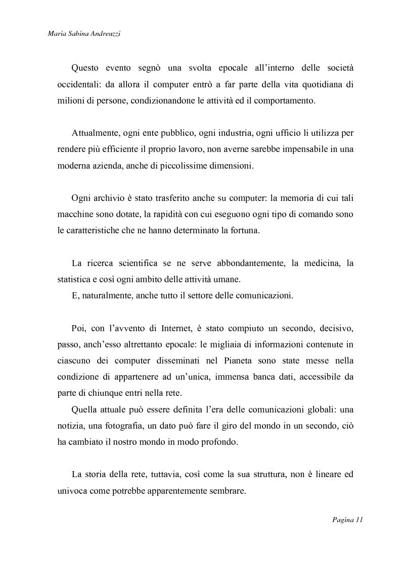 Anteprima della tesi: Technospeak: le nuove terminologie relative al mondo dell'informatica., Pagina 9