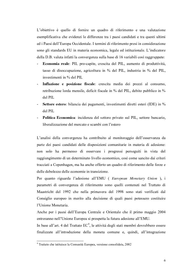 Anteprima della tesi: La Rep. Slovacca verso l'Unione Europea: analisi del processo di transizione, Pagina 10