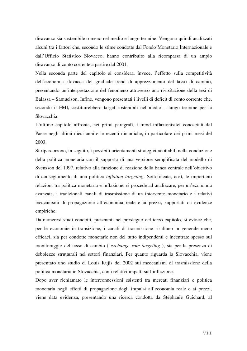 Anteprima della tesi: La Rep. Slovacca verso l'Unione Europea: analisi del processo di transizione, Pagina 3
