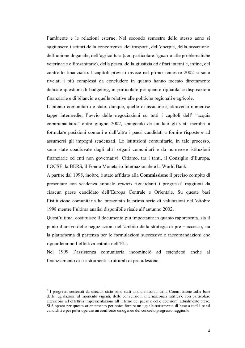 Anteprima della tesi: La Rep. Slovacca verso l'Unione Europea: analisi del processo di transizione, Pagina 8