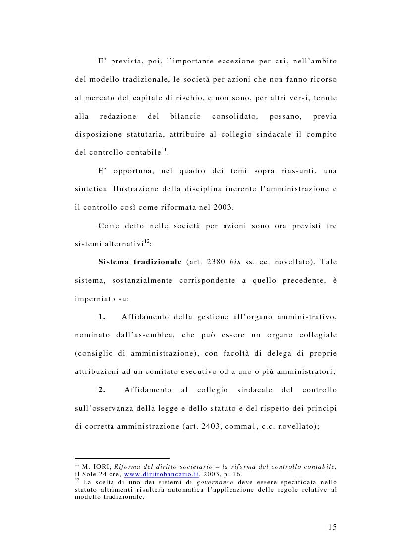 Anteprima della tesi: La responsabilità penale dei revisori, Pagina 10